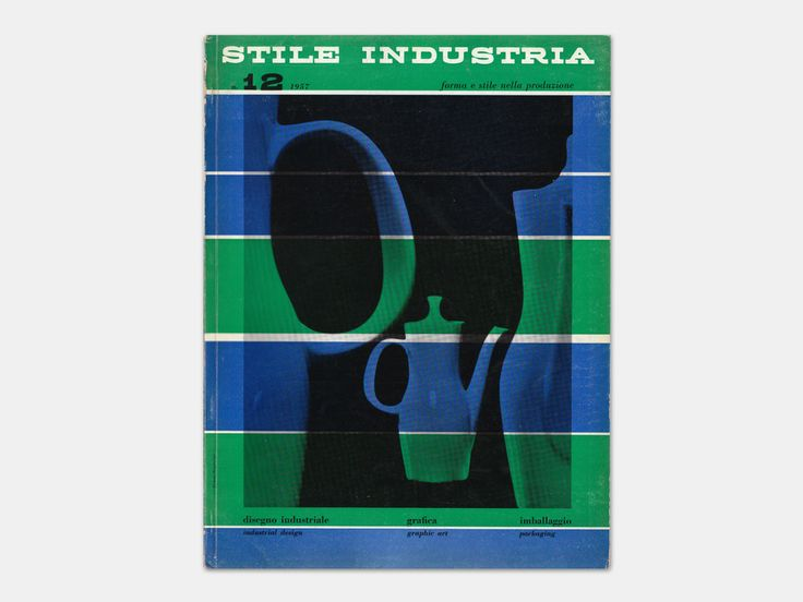 Michele Provinciali - Stile Industria Industrial Design, Graphic Art, Packaging, No. 12, June 1957