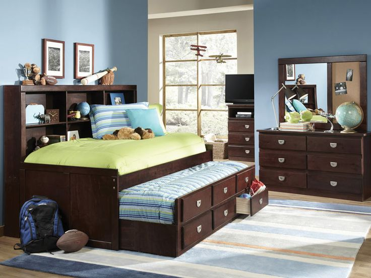 University Storage Daybed. 17 Best images about Youth Bedrooms on Pinterest   Bunk beds for