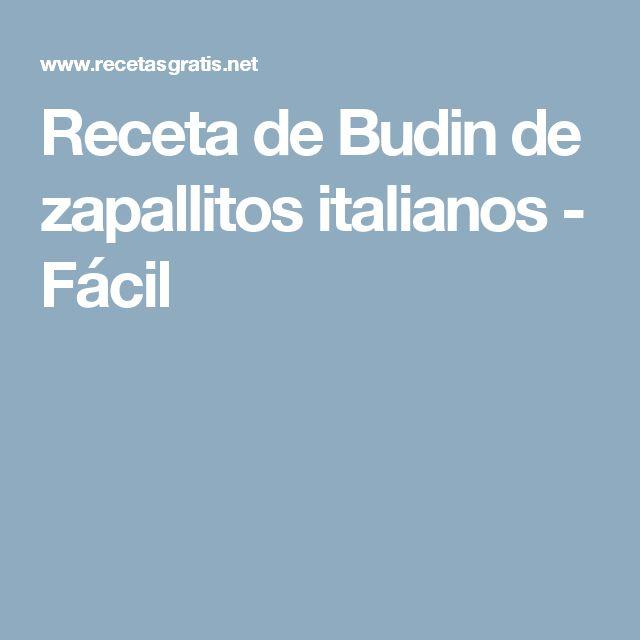Receta de Budin de zapallitos italianos - Fácil