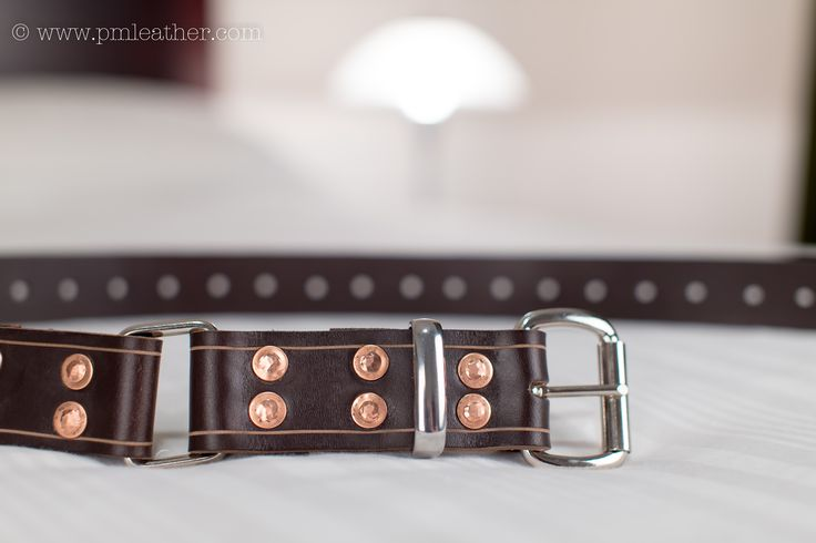 "A throwback to the simple days of cowboys and ranches, the Rustic was the first brown hobble belt released in the PM Leather belt range. Comprised of a sumptuous, 1.5"" chocolate brown, leather strap, 12 copper rivets and strong stainless steel furnishings, the Rustic will do more than just ""hold your horses.""  It's good, 'ol fashioned practicality, with a kinky twist."