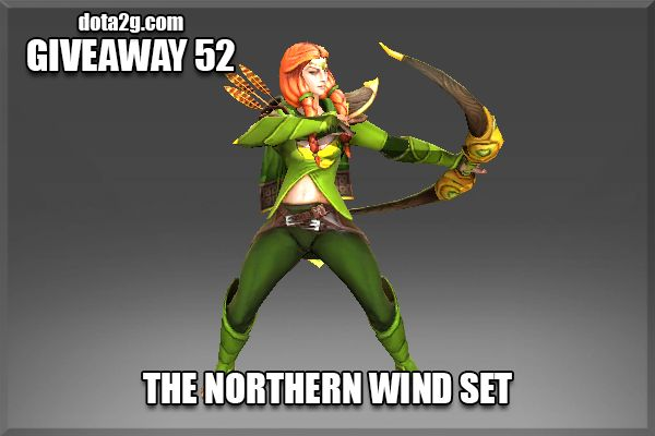 Giveaway 52 - The Northern Wind Set