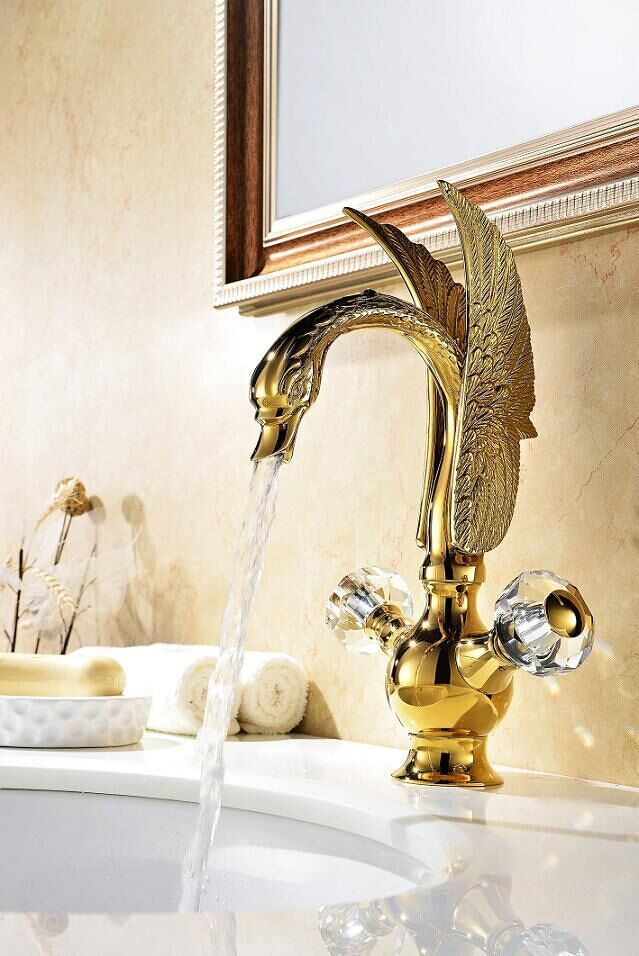 50 best Swan Shaped Bathroom Fixtures | Bathroom Sink Faucet, Shower ...