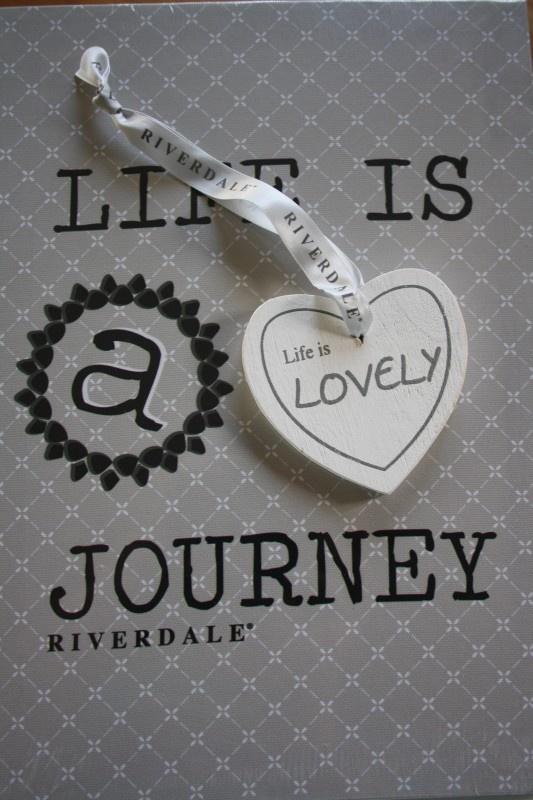Riverdale deurhanger heart white