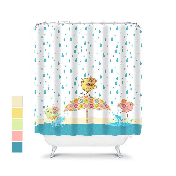 This cute, funny shower curtain would be a great addition to a toddler bathroom decor. There is nothing like a kids shower curtain to turn the kids bathroom decor into fun in the tub time. An extra long curtain can be purchased if required as all shower curtains in this shop are offered in an extra long length. See the following listing:  https://www.etsy.com/au/listing/281658026/extra-long-shower-curtainshower?ref=shop_home_active_31  I am a textile designe...
