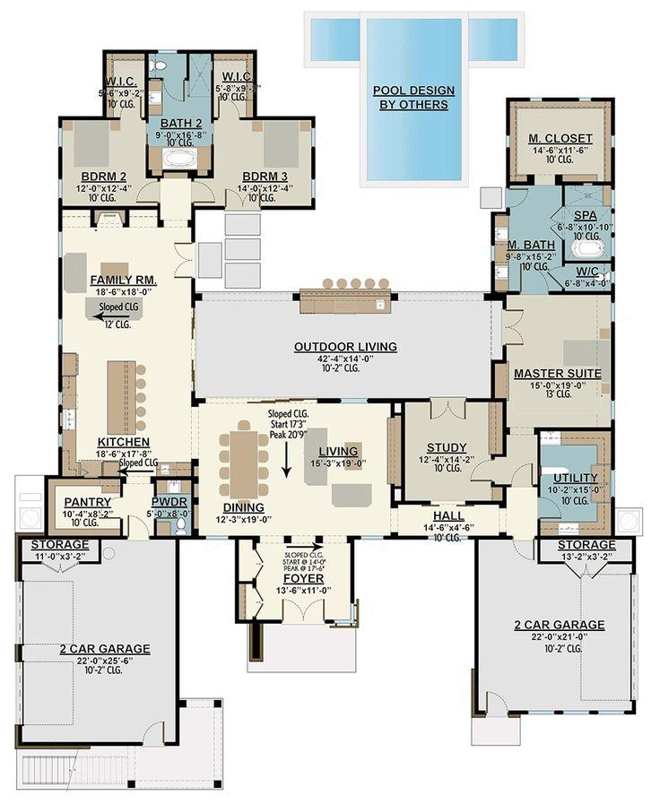 1604 Best Images About Architecture/Floorplans On Pinterest