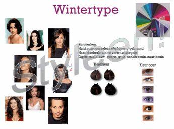 Styleen - kleurtype - winter