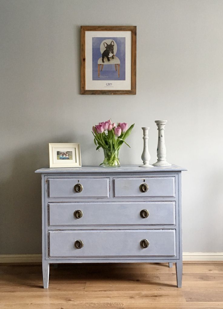 Louis Blue Chest of Drawers