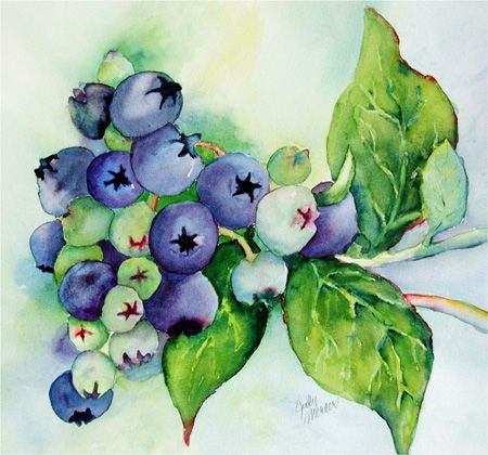 25+ best ideas about Watercolor fruit on Pinterest | Watercolor ...