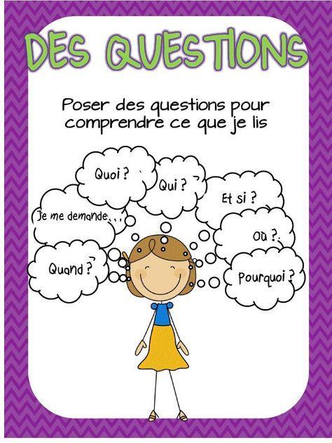 Des stratégies de lecture à pratiquer-en français - Mrs. Keeley's Classroom