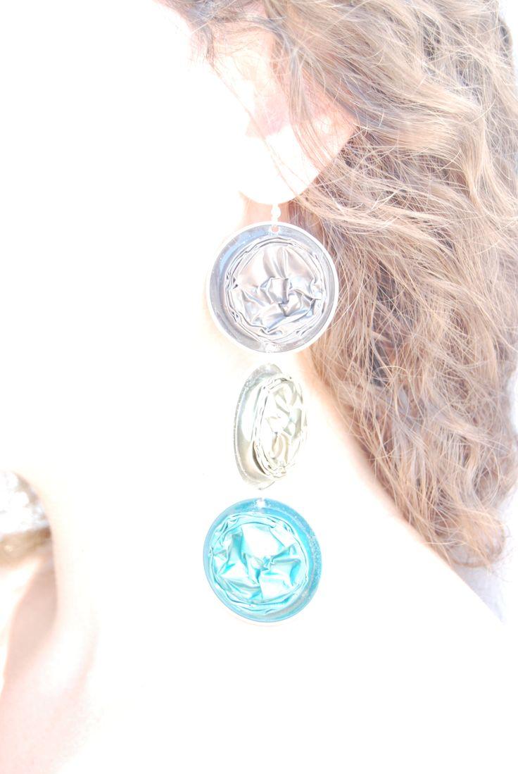 #wearing gia de #earings #nespresso #trash art #jewels