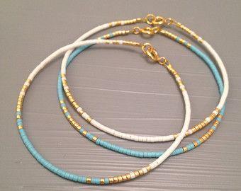 Gold and Silver Bracelet Elegant Bracelet Contemporary jewelry Skinny Bracelet – Basteln
