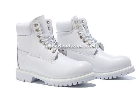 2017 New Men's Timberland 6 Inch Boots All White $90.99