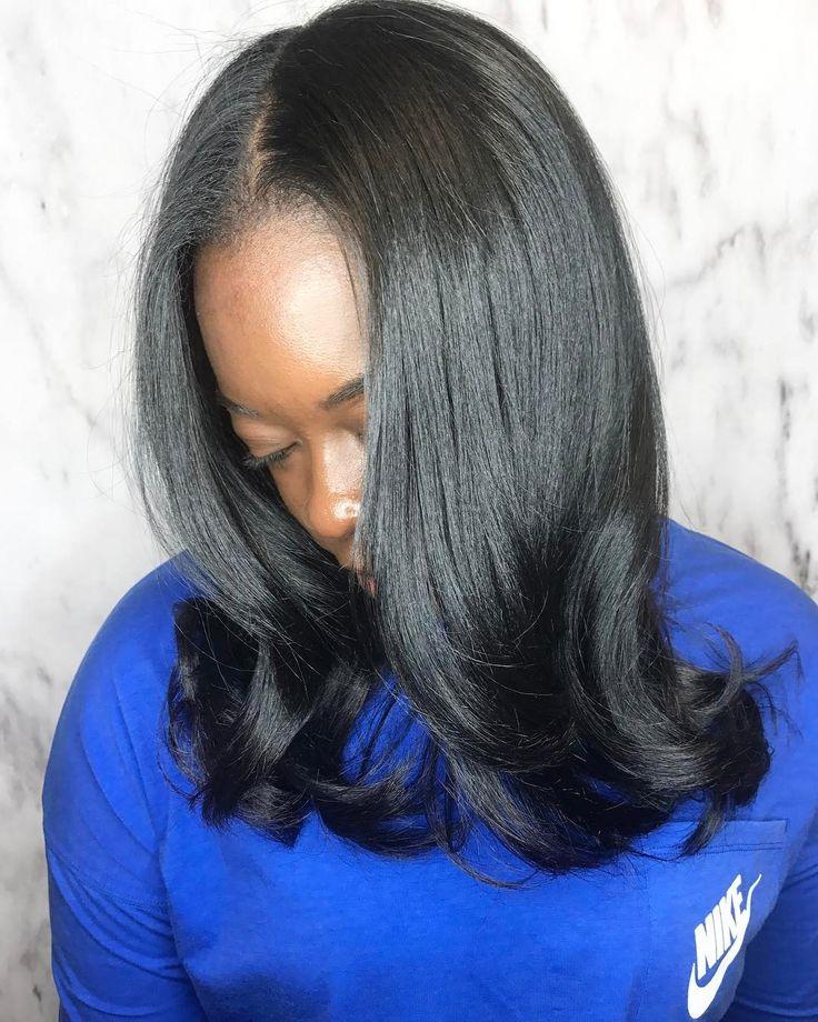 "I need a ring light - The Hair Kitchen LLC (@thehairkitchen_) on Instagram: ""Hot oil treatment + Olaplex + Silk press by @niceybabyy #Healthyhair #Dryhair #Damagedhair…"""