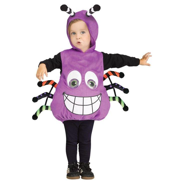 Toddler Spider Googly Eyes Infant Costume 6-24M, Toddler Unisex, Multi-Colored