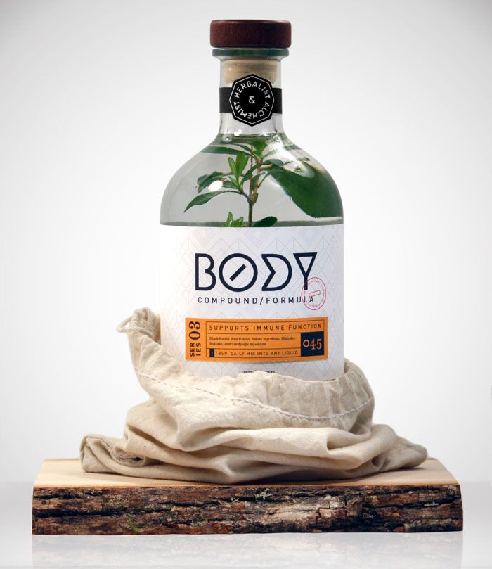 body: Design Inspiration, Herbal Remedies, Creative Packaging Design, Alchemist Rebrand, Students Work, Packaging Inspiration, Graphics Design, Chad Michael, Michael Smith