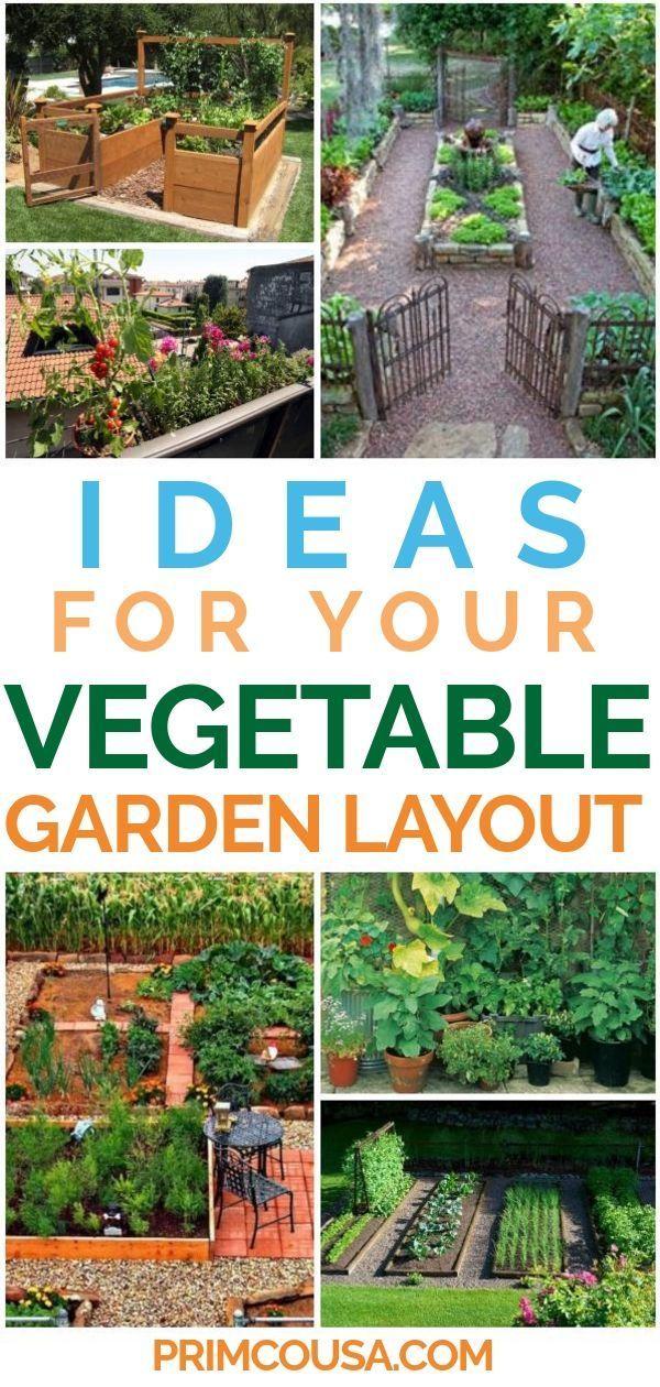 Impressive Home Vegetable Garden Ideas For Backyard Raised Bed - Home-vegetable-garden-design