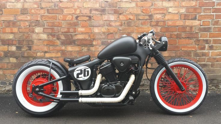 Honda 600 bobber Yamaha 650 bobber custom Voodoo custom cycles book your build | eBay