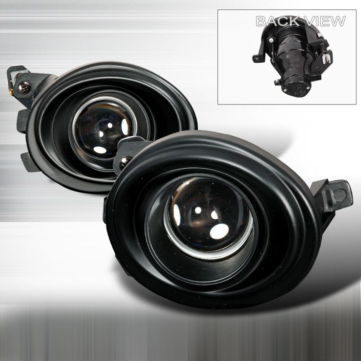 Bmw M3 E46 2001-2006 Black Projector Fog Lights