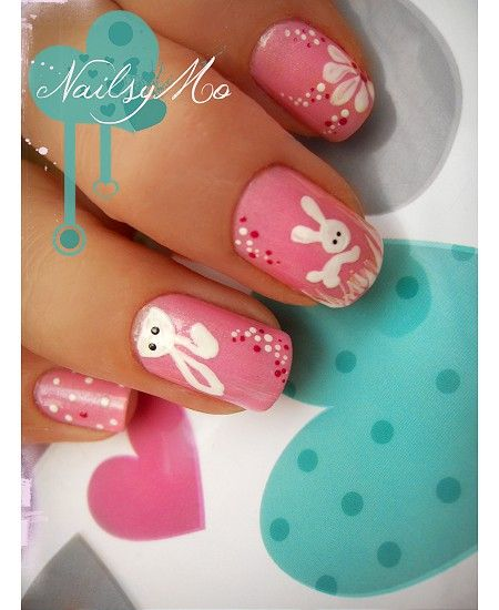 Easter nail art| Be inspirational  ❥|Mz. Manerz: Being well dressed is a beautiful form of confidence, happiness & politeness