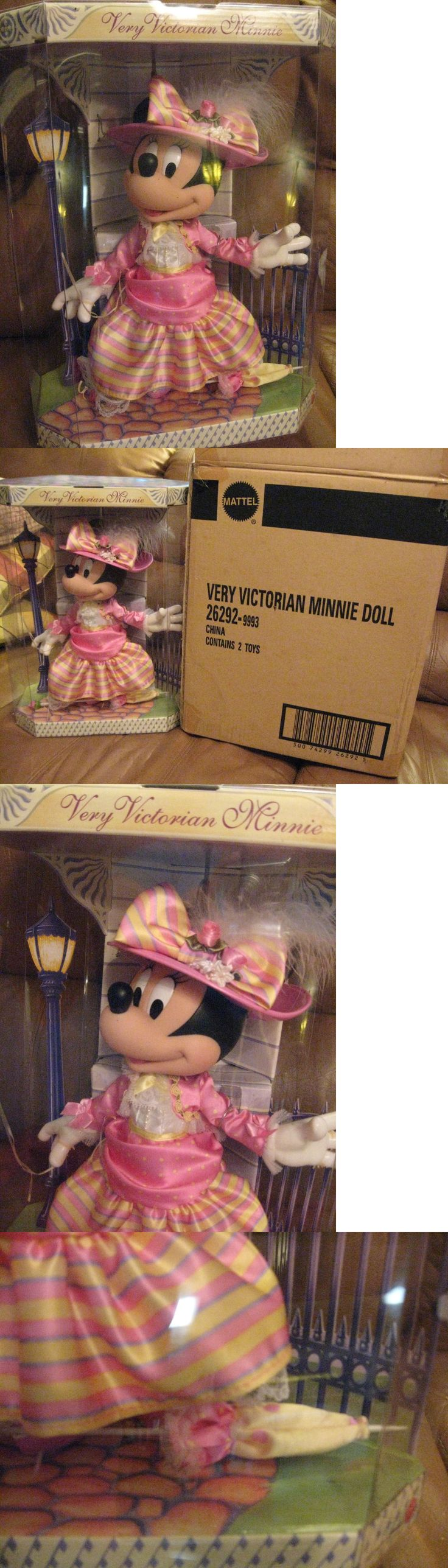 Minnie 19220: Beautiful Victorian Minnie Mouse Doll At The Park -> BUY IT NOW ONLY: $57 on eBay!