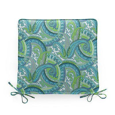 doublepiped outdoor chair cushion