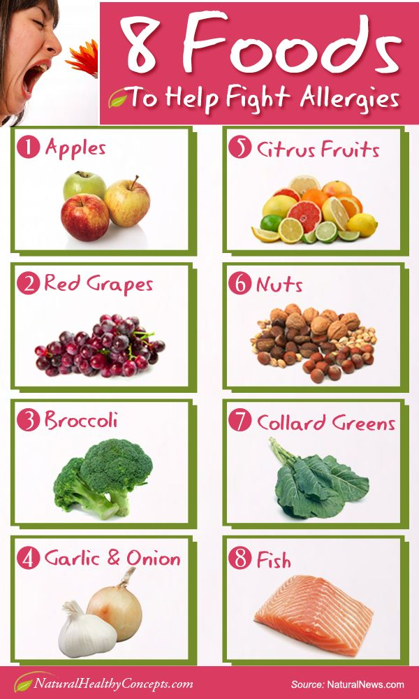 Detox and Reduce, or Eliminate Allergy Symptoms [InfographicJoy