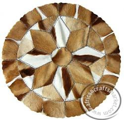 African Springbok circular mat