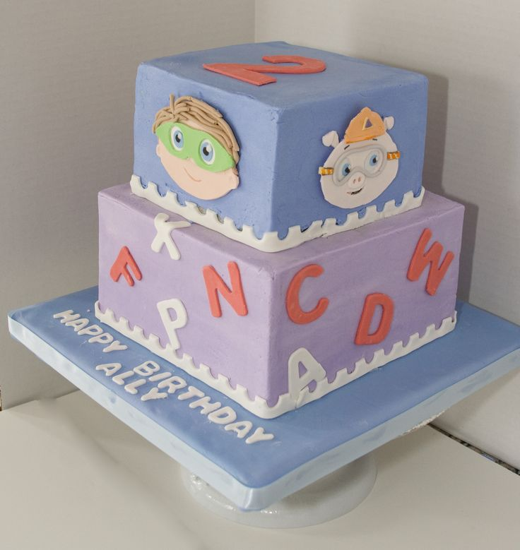 Daphne Made Her Own Birthday Cake Too: 17 Best Ideas About Super Why Cake On Pinterest