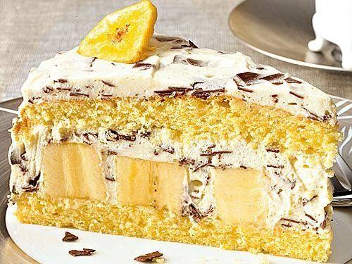 Stracciatella-Torte