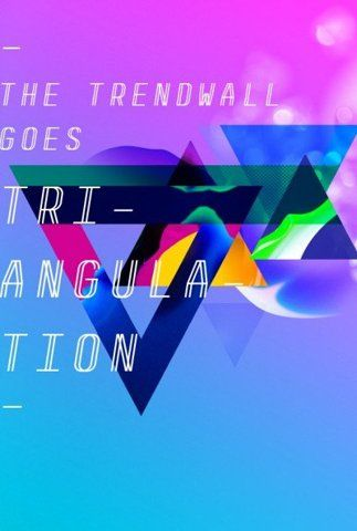 sweet colors and triangles!