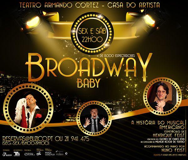 Broadway Baby on Behance