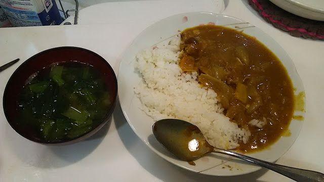 食ったもの。マイルドなカレー。  Mild curry. http://www.kandamori.net/2017/04/blog-post.html #朝食 #夕食 #昼食 #ランチ #グルメ #ディナー #食事 #料理 #食料 #食べ物 #ご飯 #Breakfast #dinner #lunch #gourmet #meal #Dish #food #rice #cook #cooking