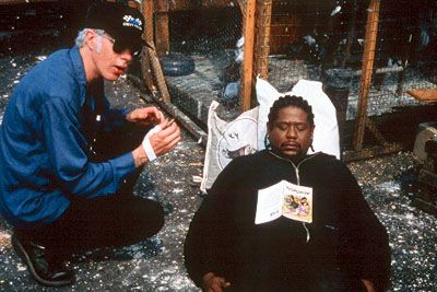 Ghost Dog: The Way Of The Samurai. Jim Jarmusch and Forest Whitaker.