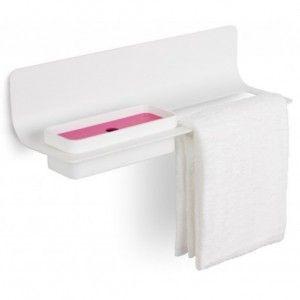 Porta asciugamani - Porta accessori Curvà - LineaBeta - Angolo Design