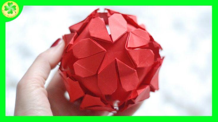 Filmik ukazujący proces powstawania przepięknej kuli z serduszkami w roli głównej! Na Walentynki jak znalazł! ;)  #serce #origami #kula #heart #bowl #walentynki #valentines #valentinesday #diy #craft #crafts #handmade #tutorial #poradnik #howto #paperbowl #YouTube #youtube #wideo #video #movie #film