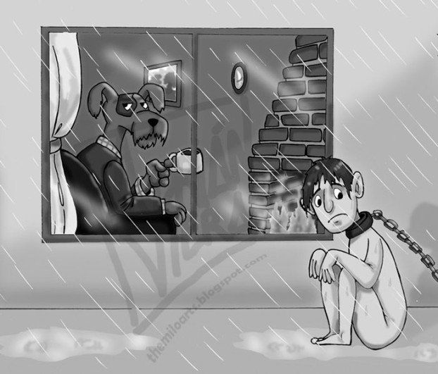 ehrfurchtiges badezimmer cartoon neu bild und afbbaaeac bored panda illustration