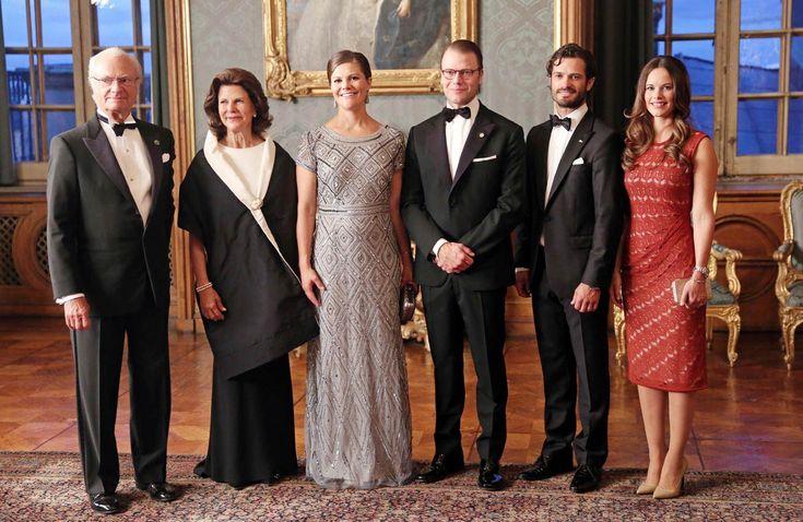 Radiante y muy feliz, así ha reaparecido Victoria de Suecia tras el anuncio de su embarazo
