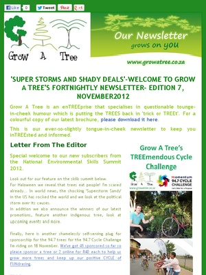 """Edition 7- """"SUPER STORMS AND SHADY DEALS', November 2012"""