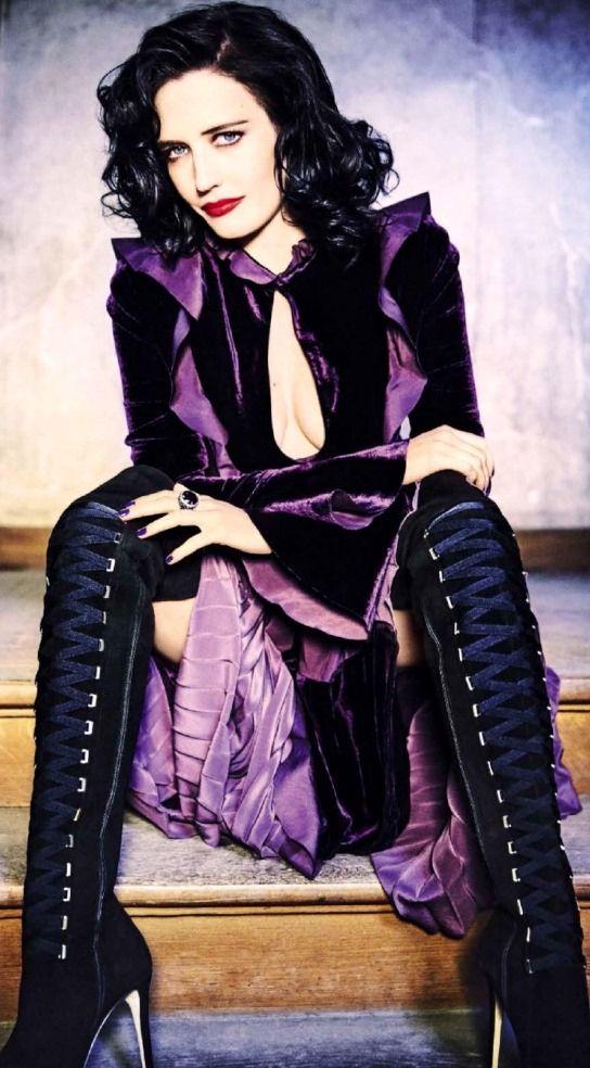 Eva Green by Ellen von Unwerth for Glamour Italia Aug. 2016 | Editorial | Source: http://country-magazines.blogspot