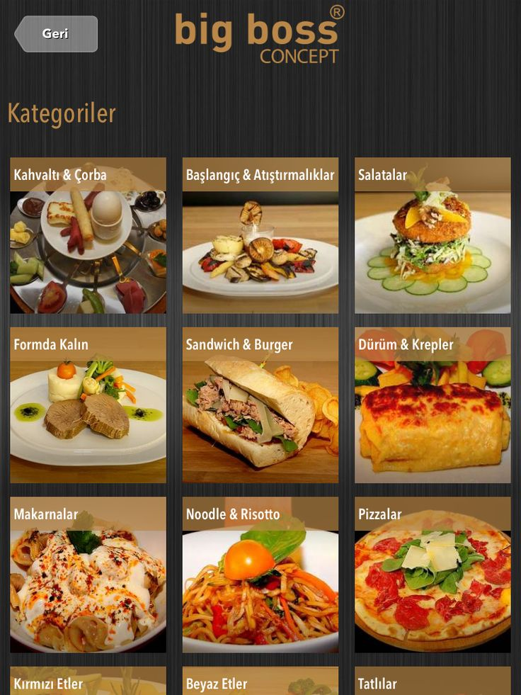 iPad Mini Restaurant Menus, iPad 2 Restaurant Menus, iPad Retina Display Restaurant Menus.