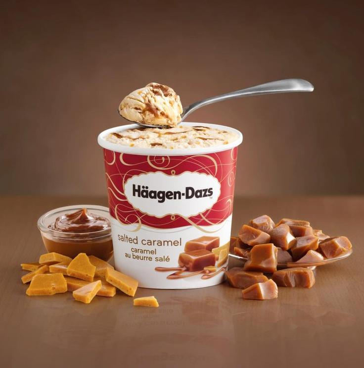 Häagen-Dazs caramel beurre salé