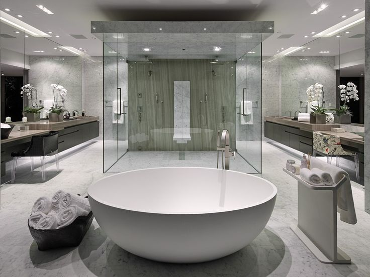The Awesome Web  Bathrooms With Separate Showers and Tubs