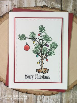 Stamp with Sandy: Charlie Brown Christmas Tree