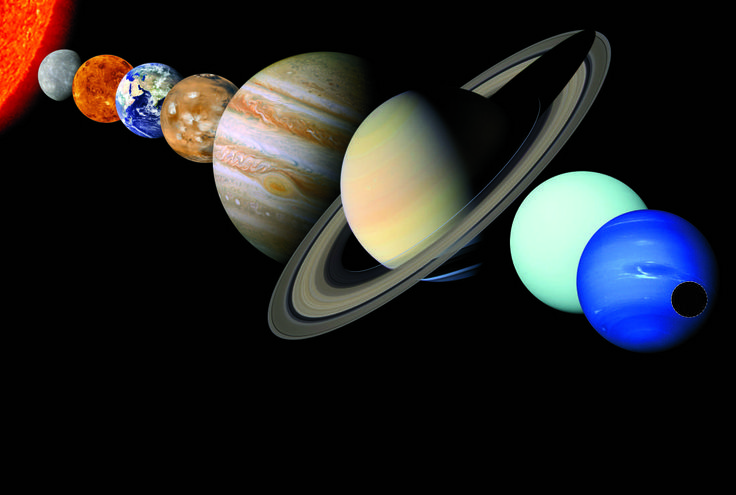 """From Time magazine - """"the path to Pluto"""""""