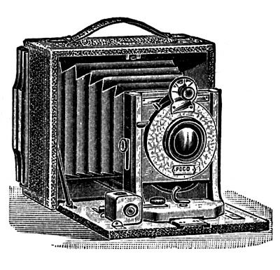 Antique Camera (free printable)
