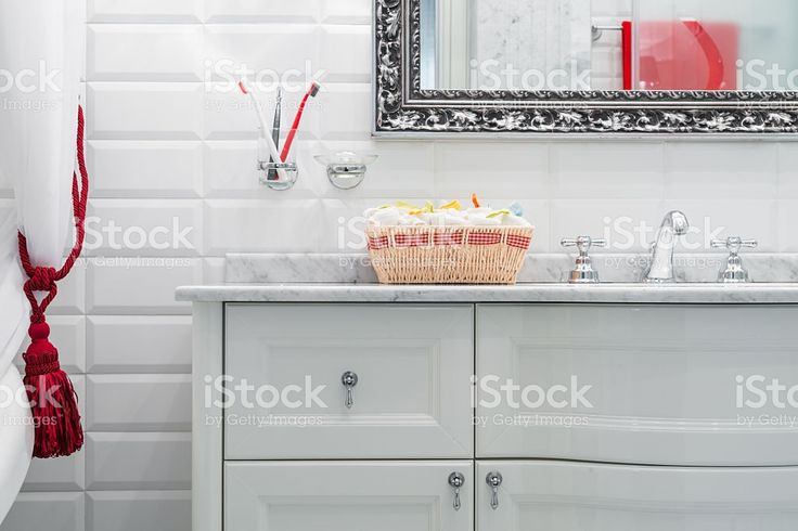 Luxury bathroom interior royalty-free stock photo