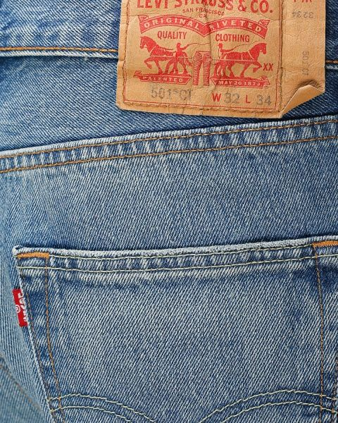 Levi's '501 Customizer Taper' jeans