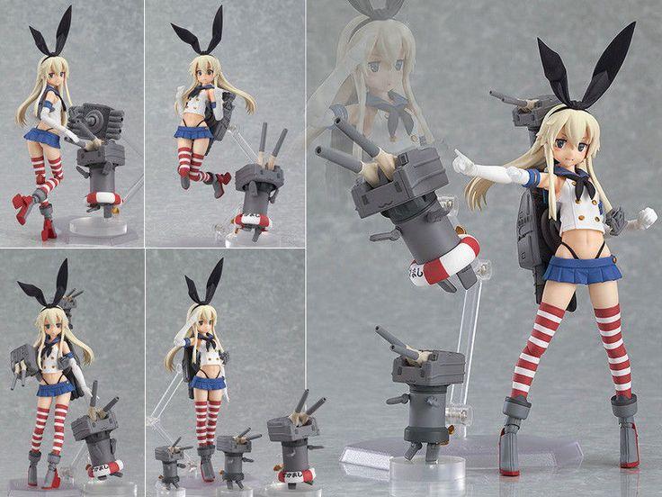 Figma 214 Kantai Collection KAN Colle Shimakaze Figure Figurine NO BOX   eBay