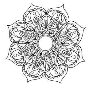 5 Free Mandala Printables For Mindful Coloring