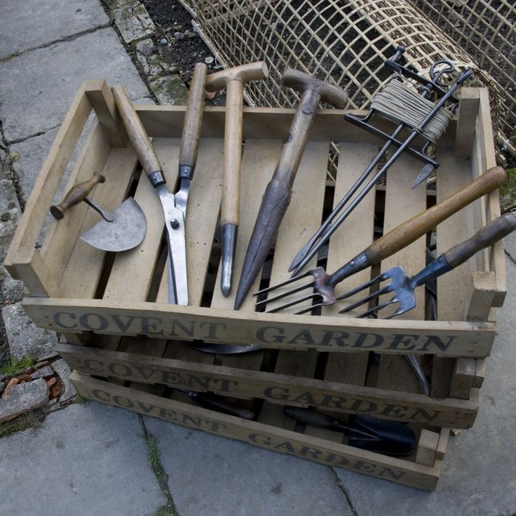 Antique Garden Tools, Furniture And Ephemera By Garden Wood In Oxfordshire.  Love! Repinned
